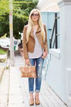 blue boyfriend Zara jeans