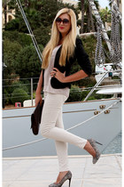 beige Bershka leggings