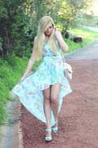 sky blue Ebay dress