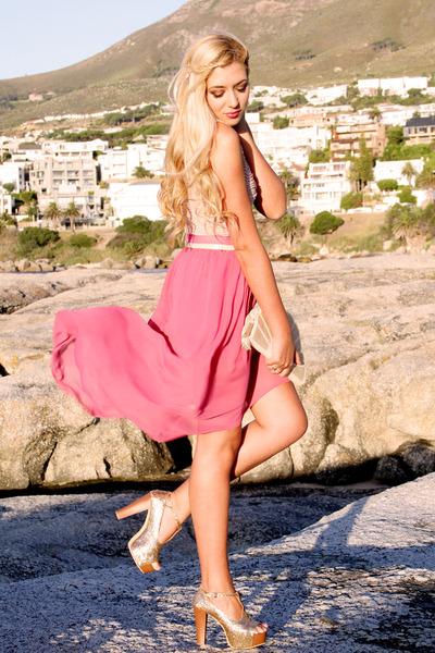 pink handmade skirt