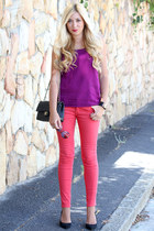 red lookbookstore jeans