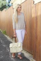 white pnp jeans