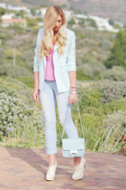 light blue Chicwish blazer