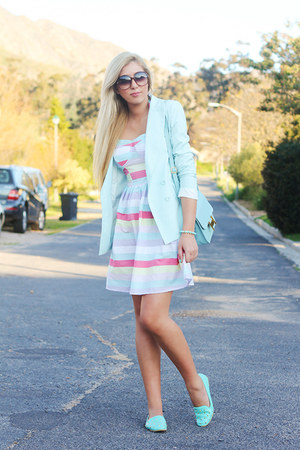 light blue Chicwish jacket