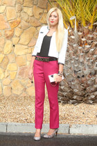 hot pink asos pants