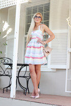 bubble gum candy stripe Mr Price dress