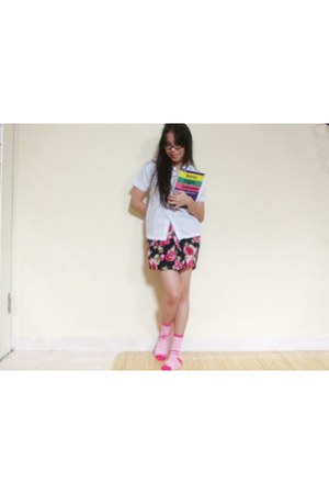 flower skirt J rep skirt - schools uniform unbranded shirt