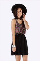 Tribal Contrast Dress