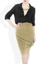 gold StyleSofia skirt