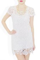 white laced dress StyleSofia dress