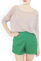 green StyleSofia shorts