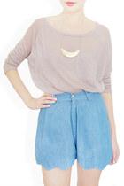 blue StyleSofia shorts