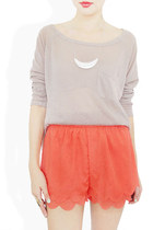 coral StyleSofia shorts