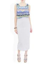 off white StyleSofia skirt
