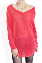 red StyleSofia sweater