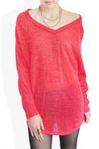 red StyleSofia sweater