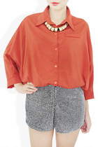 brick red StyleSofia shirt