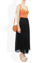 black long maxi skirt StyleSofia skirt