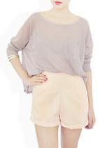 cream StyleSofia shorts
