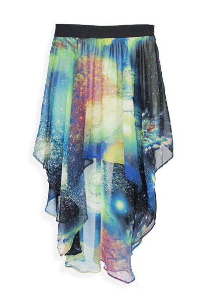 turquoise blue StyleSofia skirt