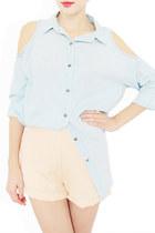 light blue StyleSofia shirt