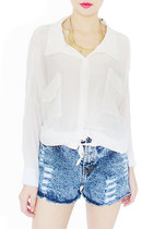white StyleSofia shirt