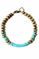 turquoise blue Fortune bracelet