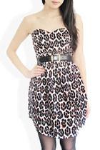 dark brown StyleSofia dress