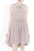 beige StyleSofia dress