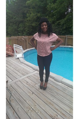 light pink Forever 21 blouse