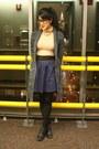 Aldo-shoes-marshalls-sweater-american-apparel-top-flea-market-necklace