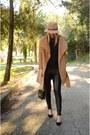 Camel-sheinside-coat-camel-fedora-stradivarius-hat