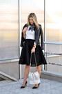 Black-choies-jacket-h-m-scarf-cream-perforated-zara-bag-cream-zara-jumper