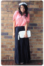 Black-vintage-pants-bubble-gum-ebay-blouse-white-sportsgirl-bag-white-spor