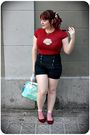 Red-customized-t-shirt-blue-zara-shorts-red-melissa-shoes-red-h-m-sunglass