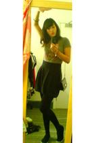 Topshop t-shirt - asoscom purse - Primark skirt