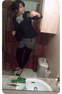 Forever-21-shorts-forever-21-blazer-forever-21-shoes-charlotte-russe-blous