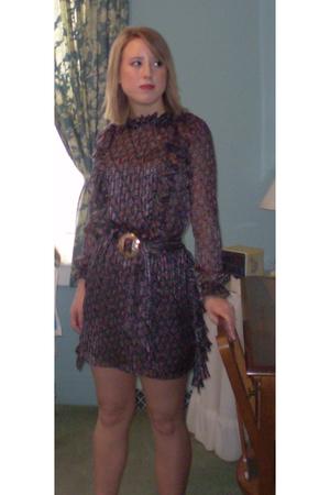 purple Jovovich Hawk dress