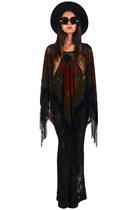 poncho fringe Saltwater Gypsy cape