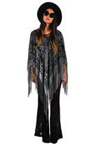 fringe poncho Saltwater Gypsy cape