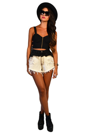 denim shorts Saltwater Gypsy Vintage shorts