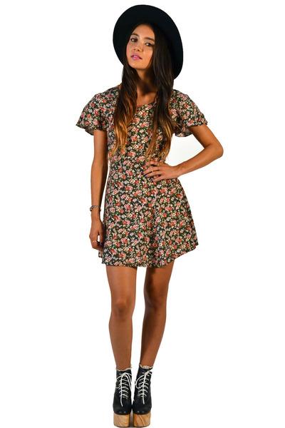 floral dress Saltwater Gypsy Vintage dress