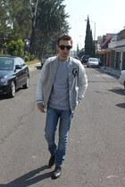 ivory Forever21 jacket