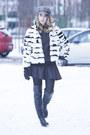 Leather-strategia-boots-fur-mink-carlo-ramello-coat-plaid-grevi-hat