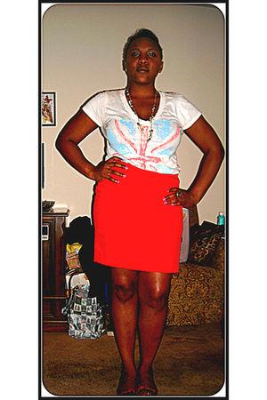 Forever 21 t-shirt - skirt