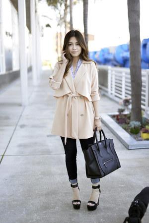 trench coat JYJZ jacket