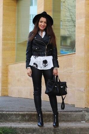 choiescom boots - Romwecom jacket - choiescom shirt