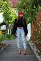 Romwecom jeans - Romwecom top - PERSUNMALL heels