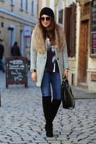 Zara jeans - choiescom hat - choiescom blouse