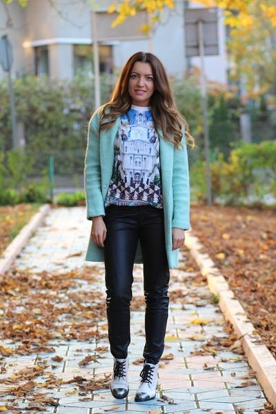 Sheinsidecom coat - Sheinsidecom pants